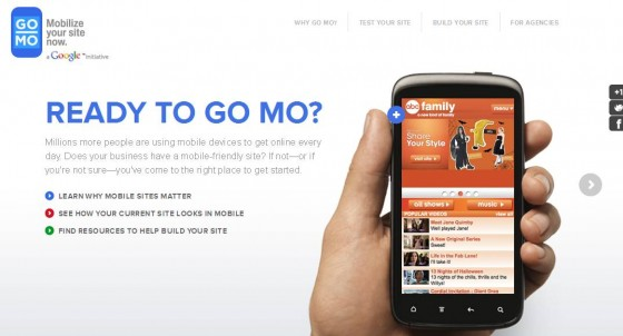 Google's HowToGoMo site